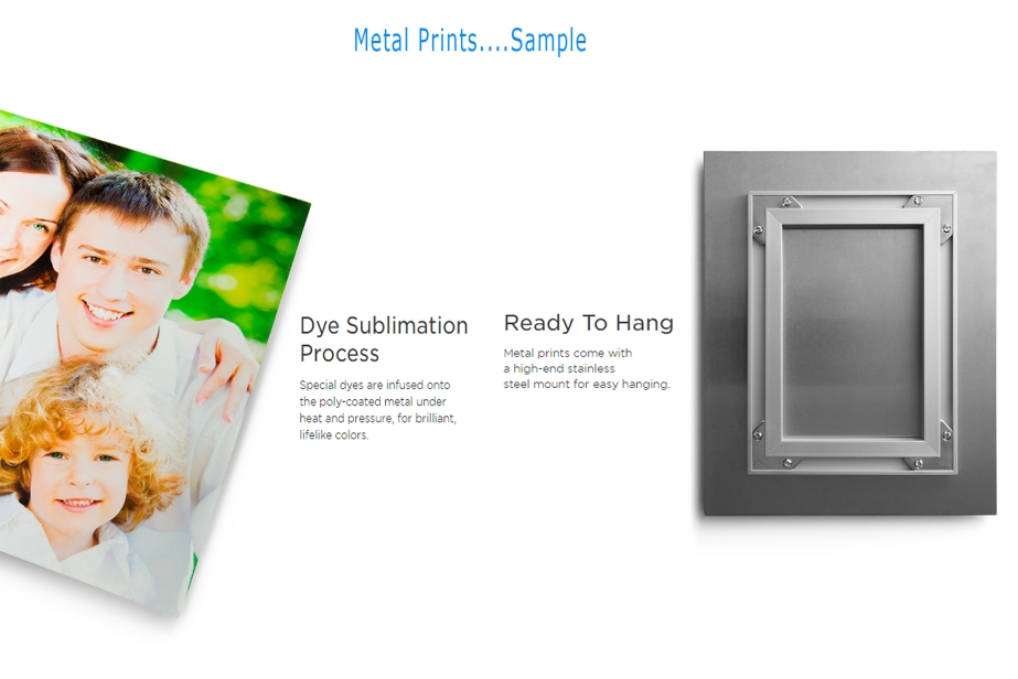 Metal Prints Sample